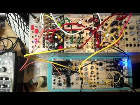 Mutable Instruments Rings / Doepfer A118 / Make Noise Richter Wogglebug - take10