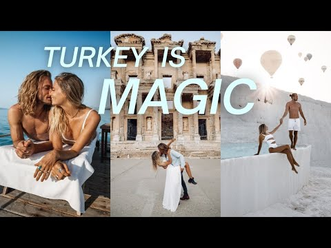 Why we love Turkey so much! Alacati // Efes // Pamukkale - Turkey Travel Vlog Part 1