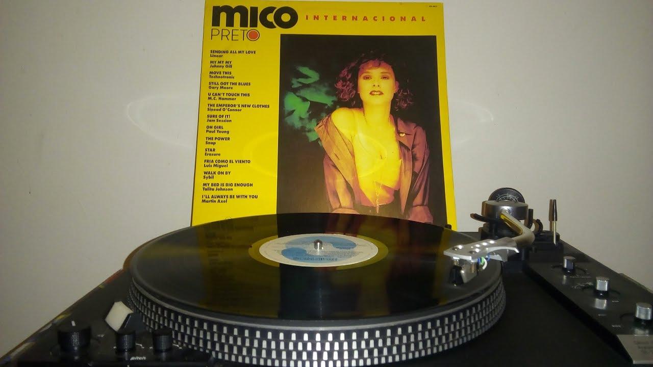 Novela Mico Preto - 1990 - Trilha Sonora Internacional (LADO A)