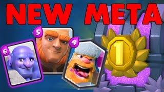 BUFFED DECKS! New Meta Tournament in Clash Royale (Giant Bowler INSANITY!)