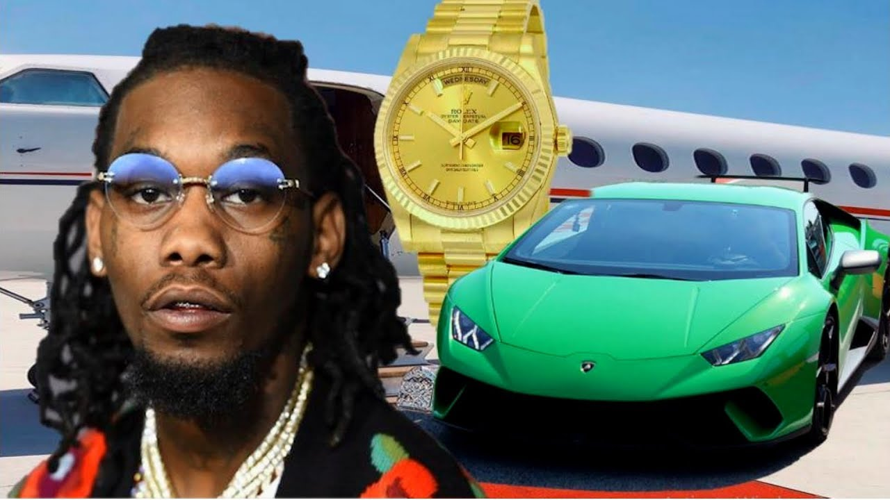 8 most expensive things owned by migos rapper offset youtube