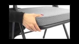 "3200 Series 2"" Padded Folding Chair"
