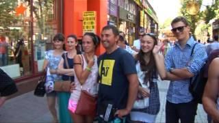 Испытание для настоящих украинцев - съесть кусок сала за 30 секунд! - Легкие деньги (выпуск 5)