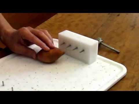 Den Stiftblock vom igel verwenden