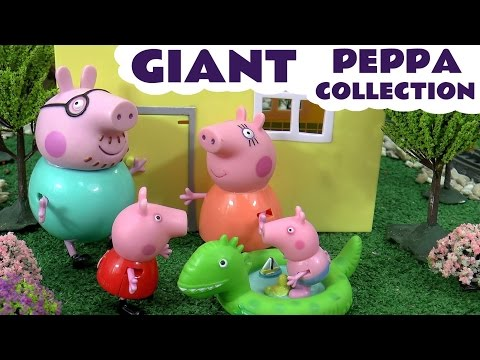 Peppa Pig English Episodes Play Doh Thomas and Friends | Juguetes de Peppa Pig & Huevos Sorpresa