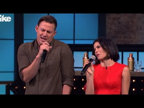 Channing Tatum & Jenna Dewan Tatum Go Head-To-Head On Lip Sync Battle