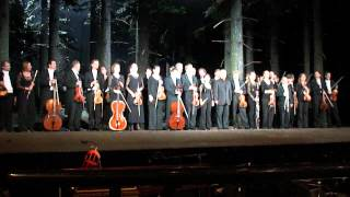 DON GIOVANNI - Theatre Schiller, Berlim - July 6, 2012 - Final curtain call with Barenboim speech