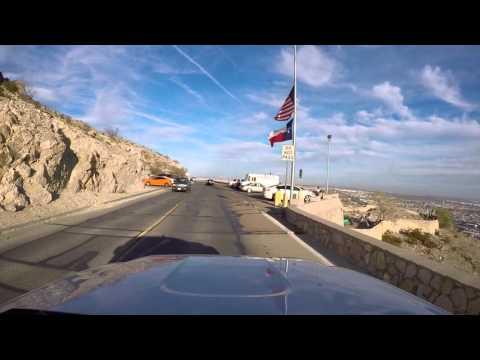 El Paso's Scenic Drive  - GoPro Hero 4 Black @ 1080P 60 fps  Dec 2015