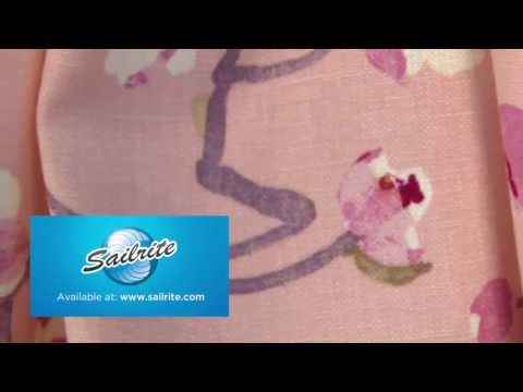 Video of Braemore Sakura Blossom Fabric #104120