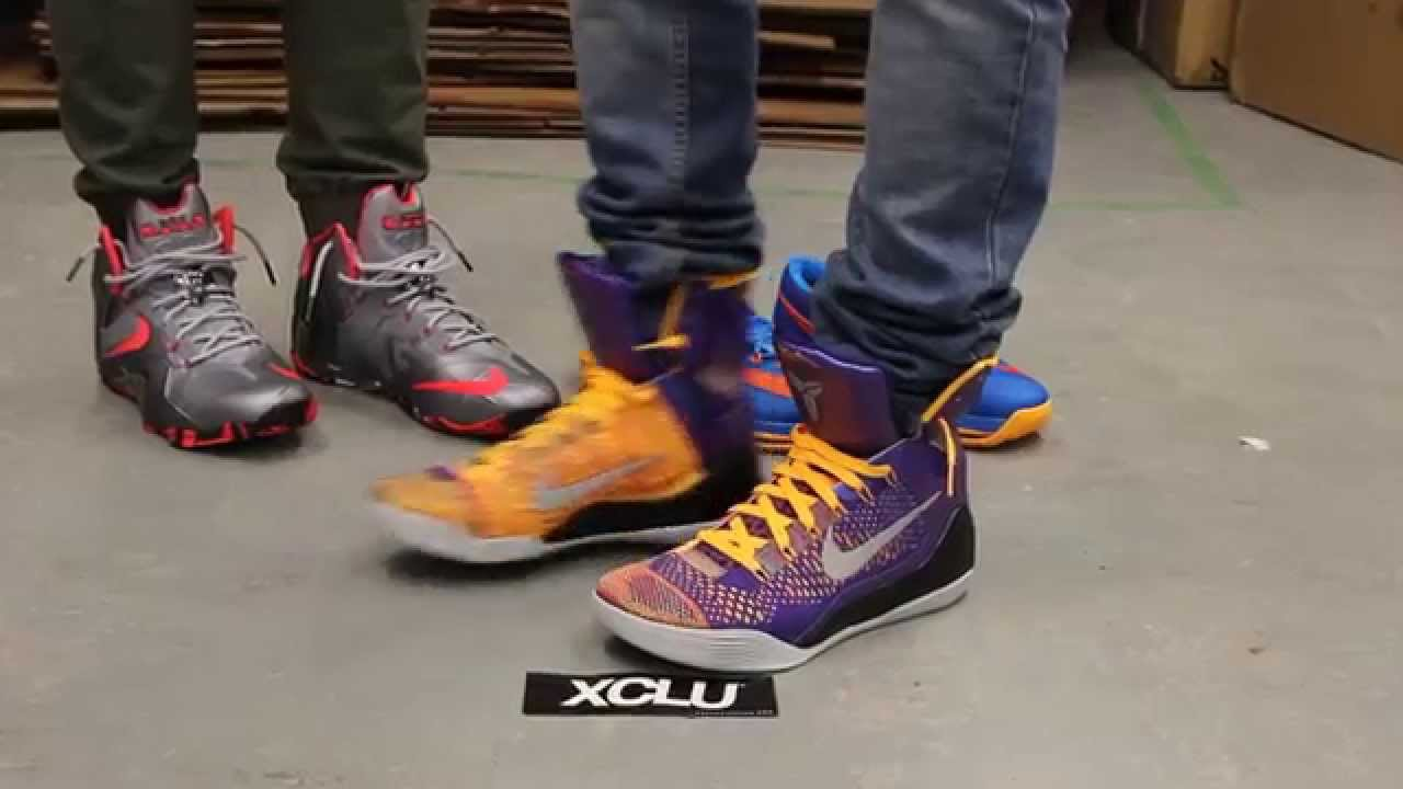 best service 6c31a 17205 Kobe 9 Elite - Court Purple - On-feet Video at Exclucity - YouTube