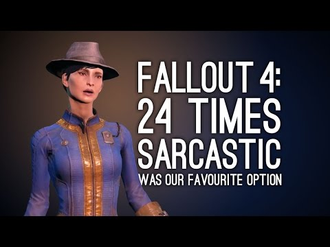 Fallout 4: 24 Sarcastic Lines That Make Sarcastic Our Favourite Fallout 4 Dialogue Option