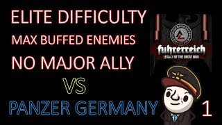 Hearts of Iron 4 - Hardest Possible Game - Fuhrerreich - Germany - Part 1