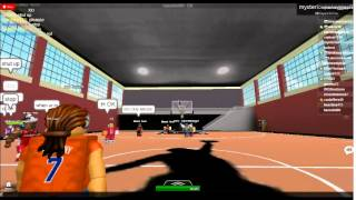 ROBLOX HEAT VS NYK part 1 first nba game