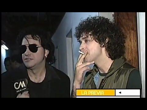 Gustavo Cerati - Entrevista - Backstage Los 7 Delfines (1998)