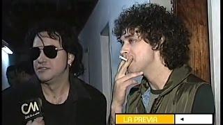 Download Gustavo Cerati - Entrevista - Backstage Los 7 Delfines (1998) MP3 song and Music Video