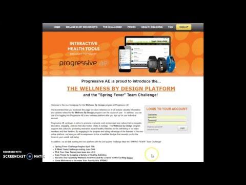 Wellness By Design program walk-through