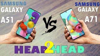 Samsung Galaxy A51  VS Samsung Galaxy A71
