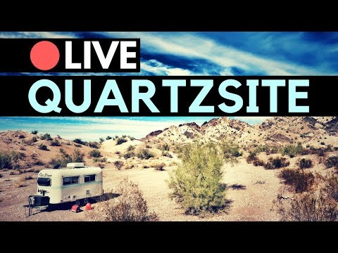 🔴LIVE: Quartzsite Tips & Resources for RV Living