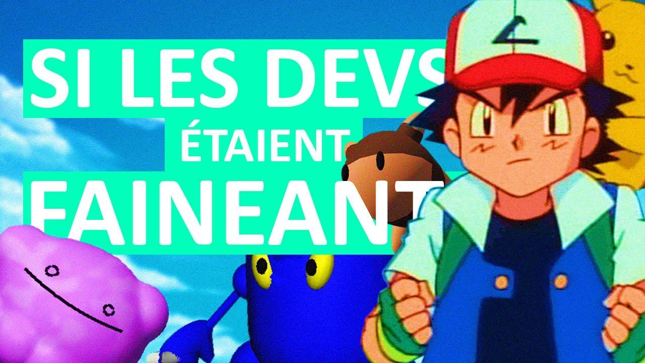 A quoi ressembleraient les Pokémon si les développeurs étaient fainéants ?