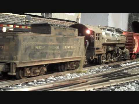 Modelling Railway Train Scenery -Excellent O-Scale Train Layout
