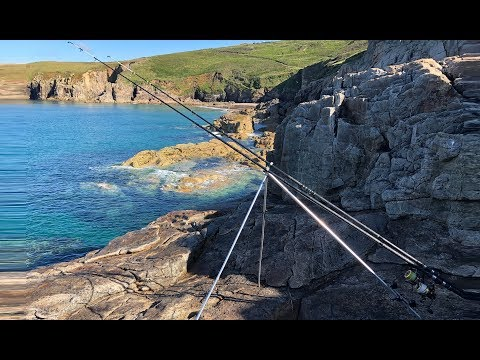 Shore Fishing Cornwall - A Mixed Species Session Off The Rocks Of West Cornwall