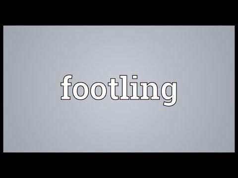 Header of footling