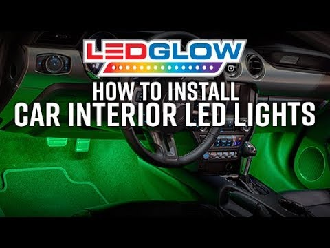 LEDGlow | How To Install Car Interior LED Lights  sc 1 st  YouTube & LEDGlow | How To Install Car Interior LED Lights - YouTube