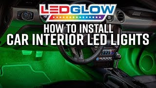 How To Install Car Interior LED Lights