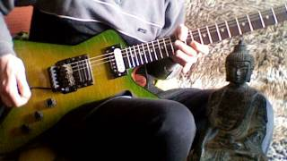 PANTERA - Psycho Holiday Solo Cover - Roi Gil - DISPLAY OF POWER Tribute