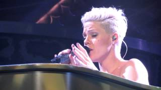 PINK - Family Portrait ( The Truth About Love Tour 2-27-13 Tampa, FL Tampa Bay Times Forum )