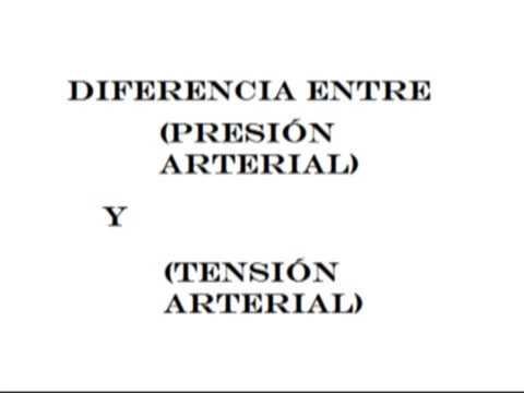 Diferencia entre hipertensión arterial alta presión
