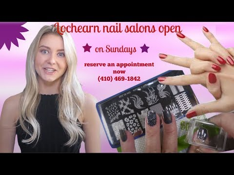 Lochearn nail salons open on Sundays | Call now (410) 469
