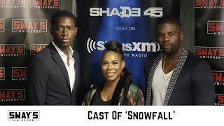 'Snowfall' Cast Say They're a Better Show than 'Game of Thrones' + Talk Working with John Singleton