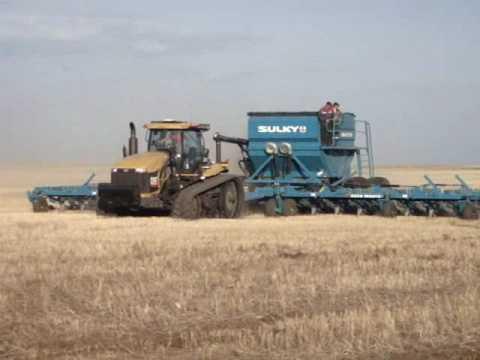 Seedmaster in Kazakhstan - test run