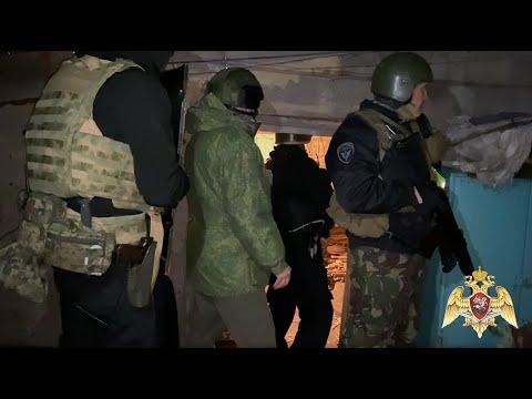 Видео задержания стрелявшего