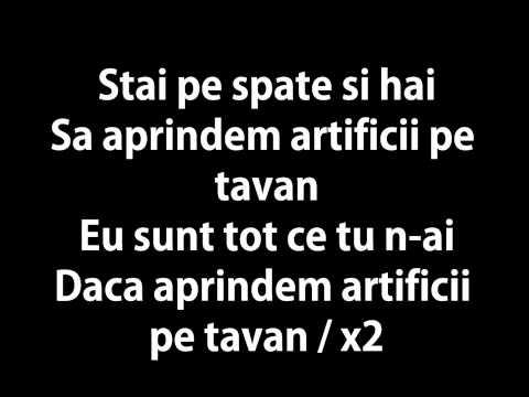 Vunk - Artificii Pe Tavan & Lyrics