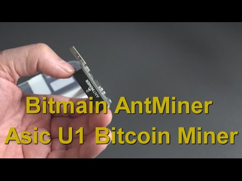 Bitmain Antminer U1/U2 – ASIC USB Dongle.