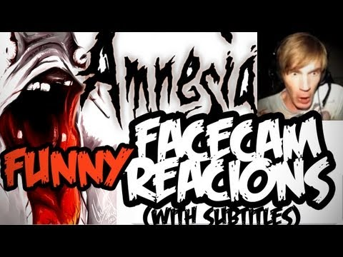 [Funny] Amnesia Scary Moments w/ Facecam! EP 4