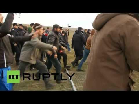 Romania: Clashes as anti-fracking protesters break into Chevron site