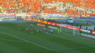 FOOTBALL: Copa America: Chile 0-0 Argentina (Chile win 4-1 on pens)