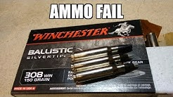 Winchester Ballistic Silvertip FAIL !!!