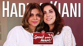 Hadiqa Kiani Shares Her Moving Tale Of Motherhood   Speak Your Heart With Samina Peerzada