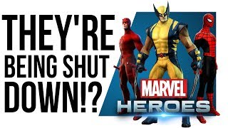 Why is Disney SHUTTING DOWN Marvel Heroes?