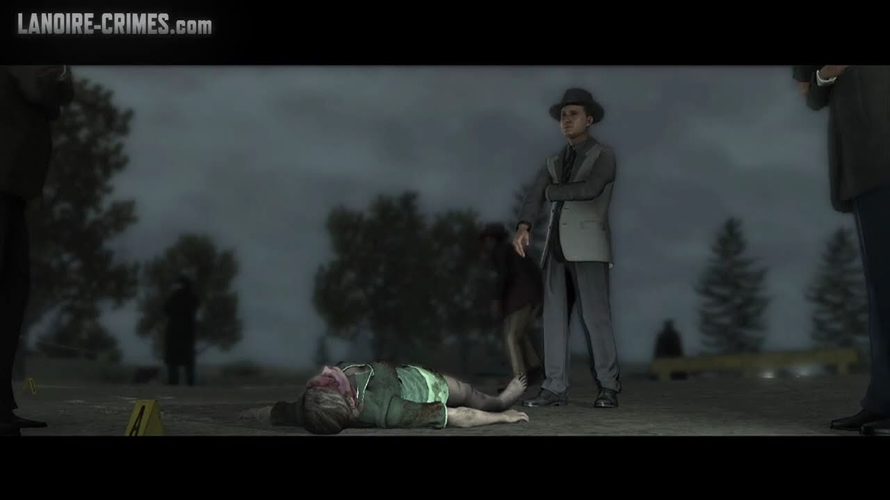 La Noire The White Shoe Slaying