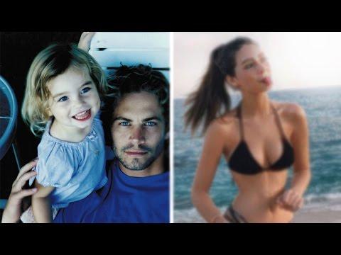 Как сейчас выглядит дочь ПОЛА УОКЕРА?!!!