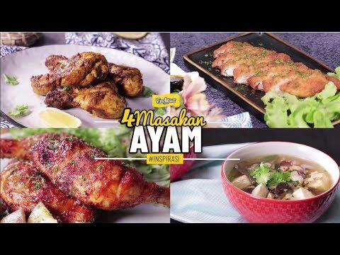 Resep 4 Masakan Ayam Youtube