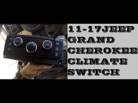 How To Replace Climate Control Unit In Jeep Grand Cherokee 2011-2017