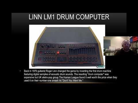 History of Drum Machines
