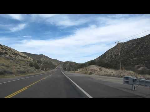 Musical Road on Old Route 66 Near Tijeras NM on 15 Oct 2014