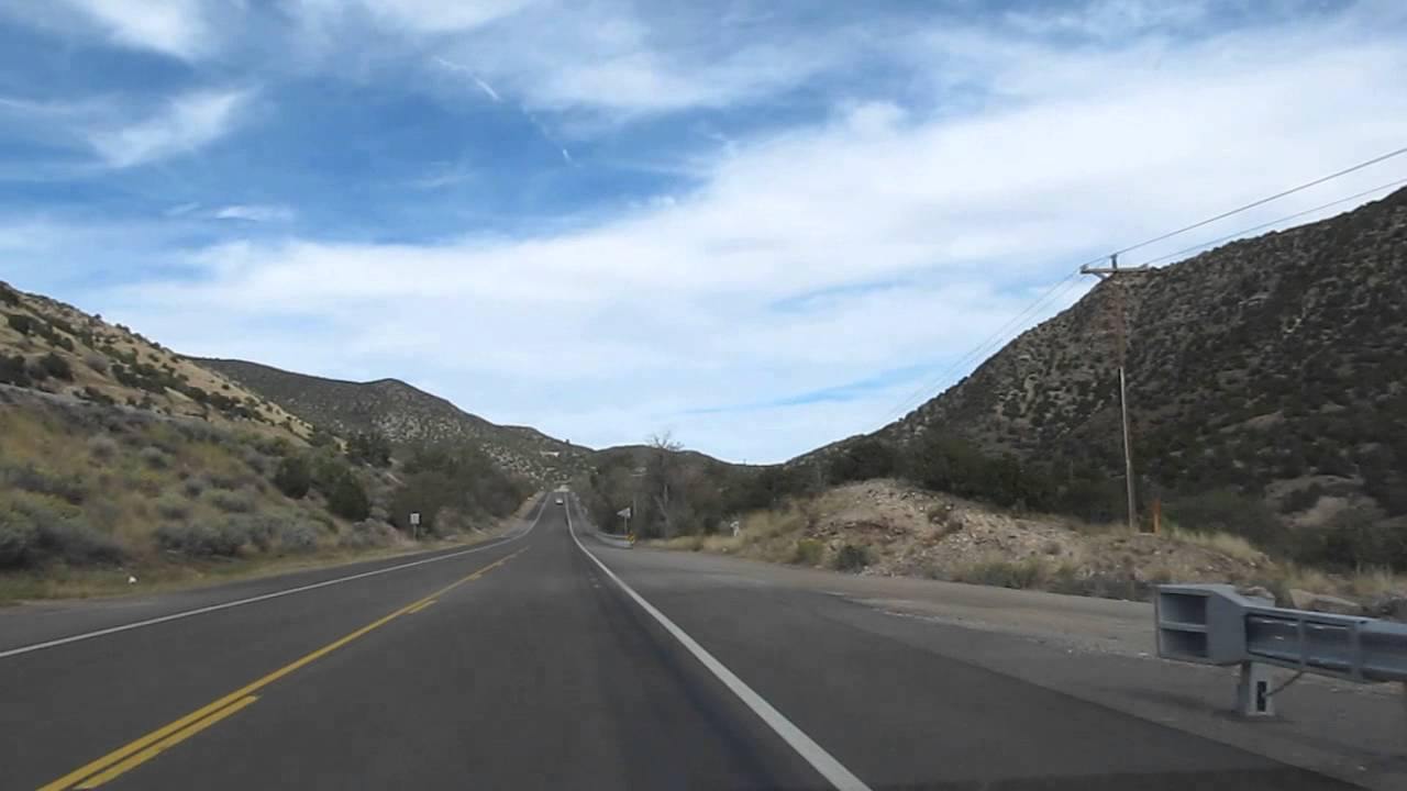 Musical Road On Old Route 66 Near Tijeras Nm On 15 Oct 2014 Youtube